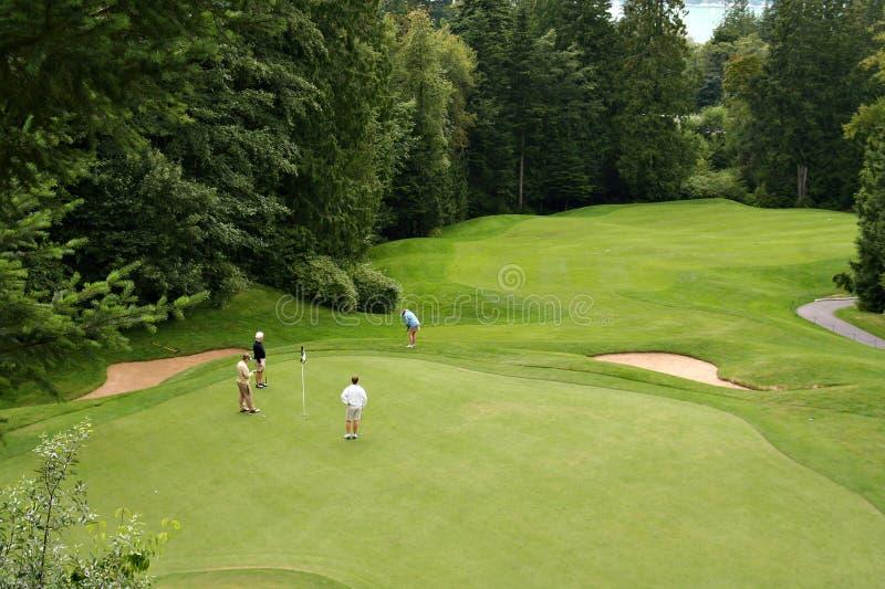 Golfeurs image libre de droits