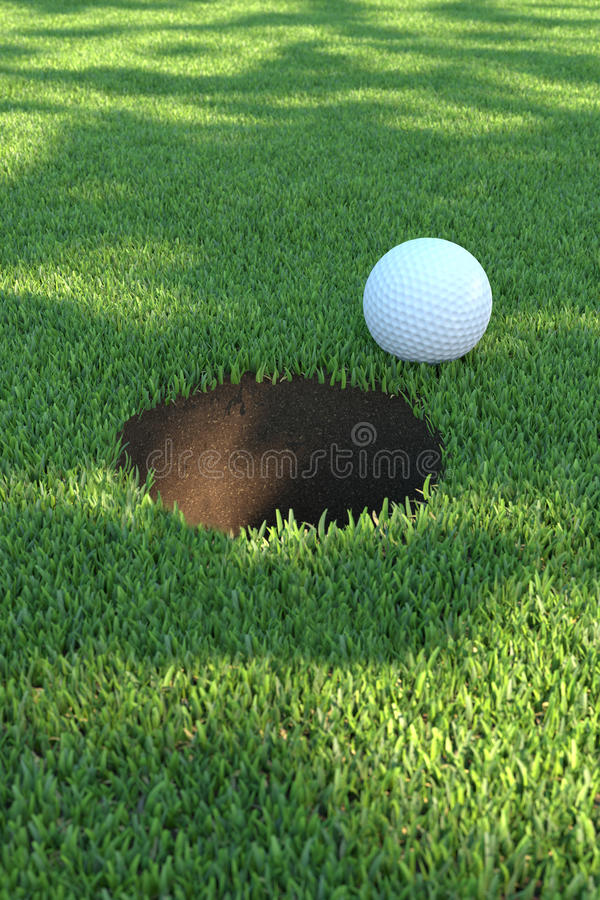 Download Golfgreen01 stock illustration. Image of grass, club - 14157826