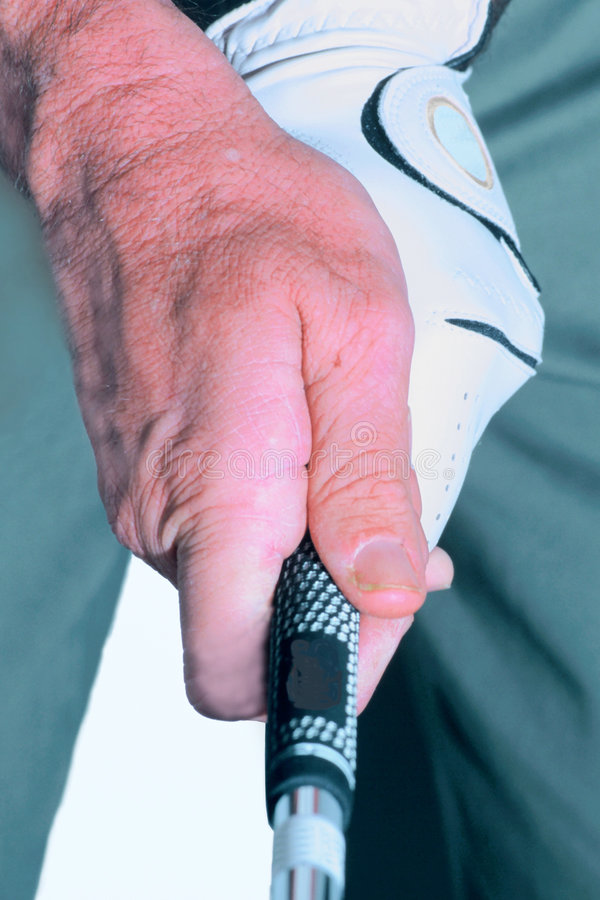 golfgrip arkivfoto