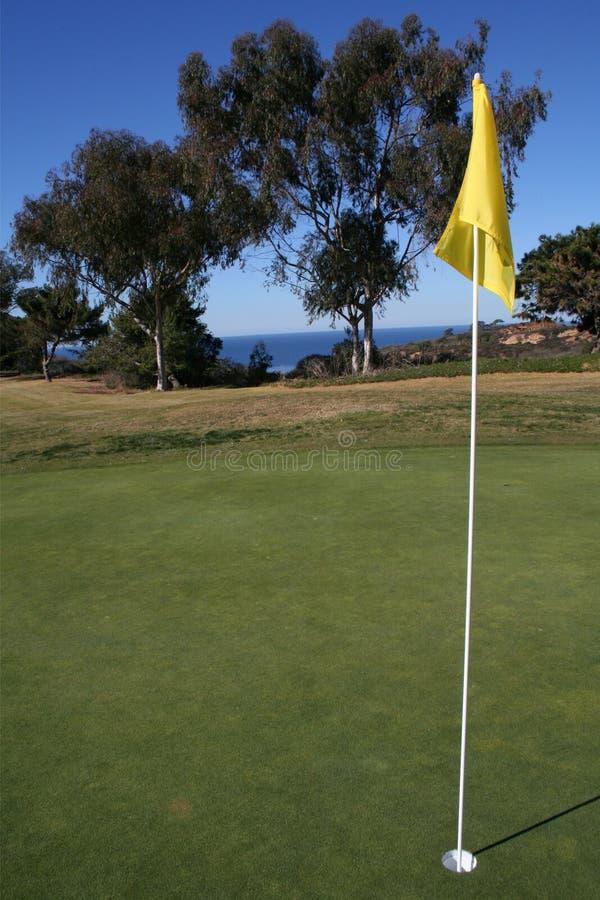 golfhålhav royaltyfria foton