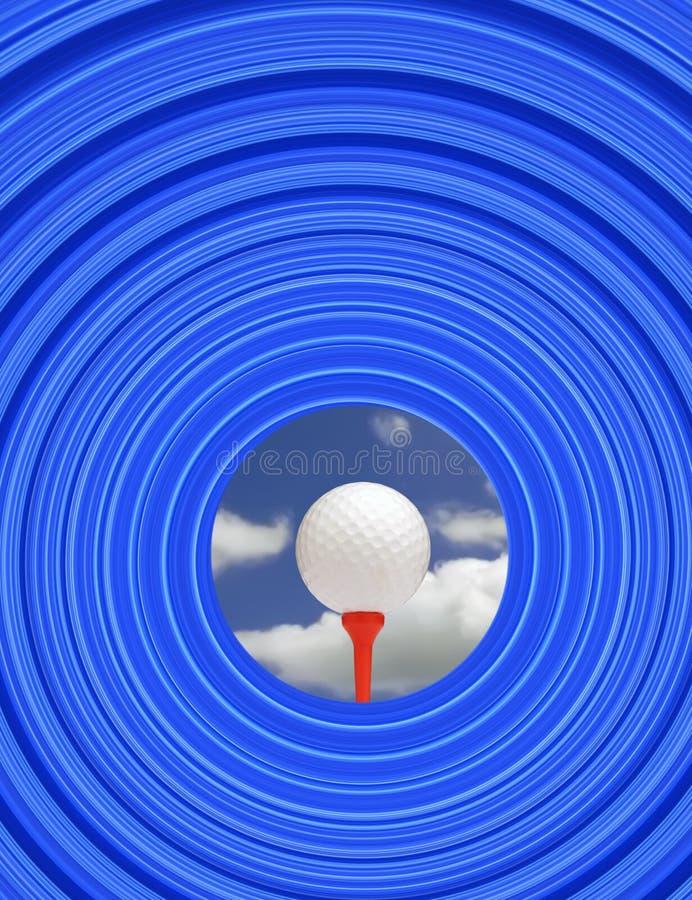 Golfherausforderung vektor abbildung