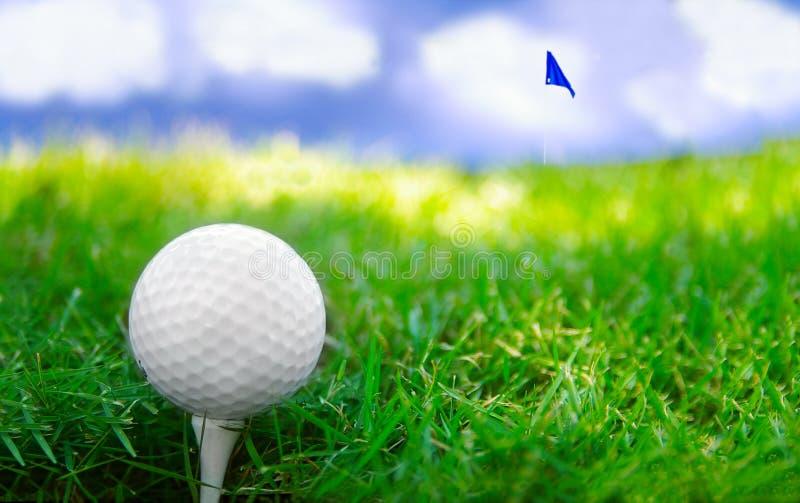 golfing дня стоковые фотографии rf
