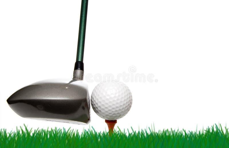 Golfing στοκ φωτογραφία