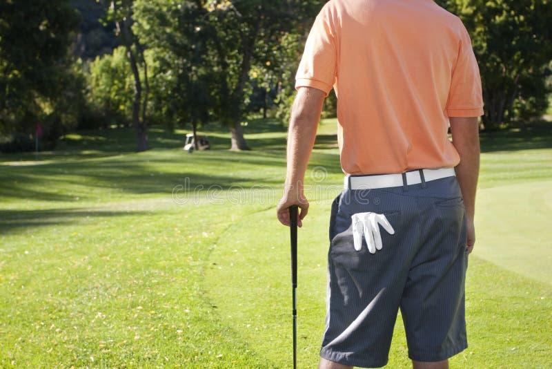 Golfing fotos de stock