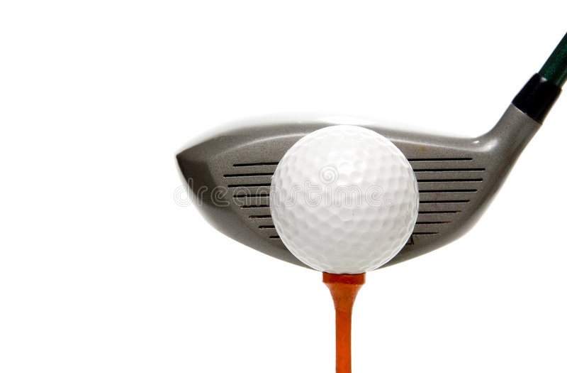 golfing стоковые фото