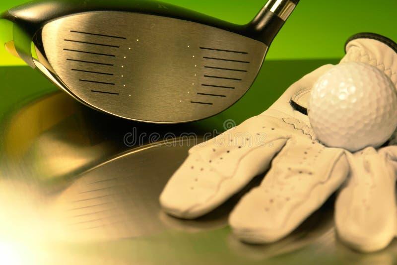 Golfing στοκ εικόνες με δικαίωμα ελεύθερης χρήσης