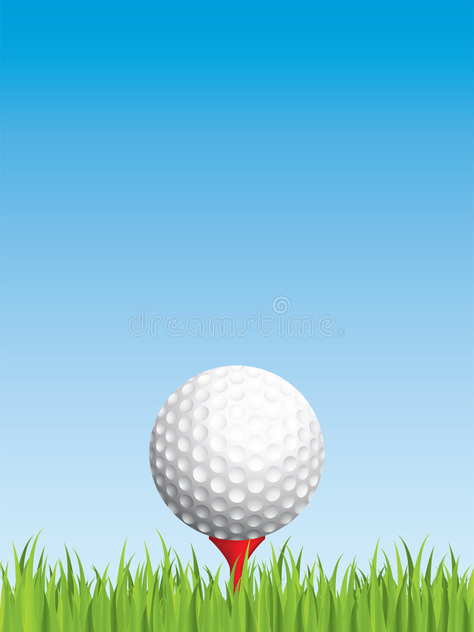 Download Golfing background stock vector. Image of ball, space - 8661168