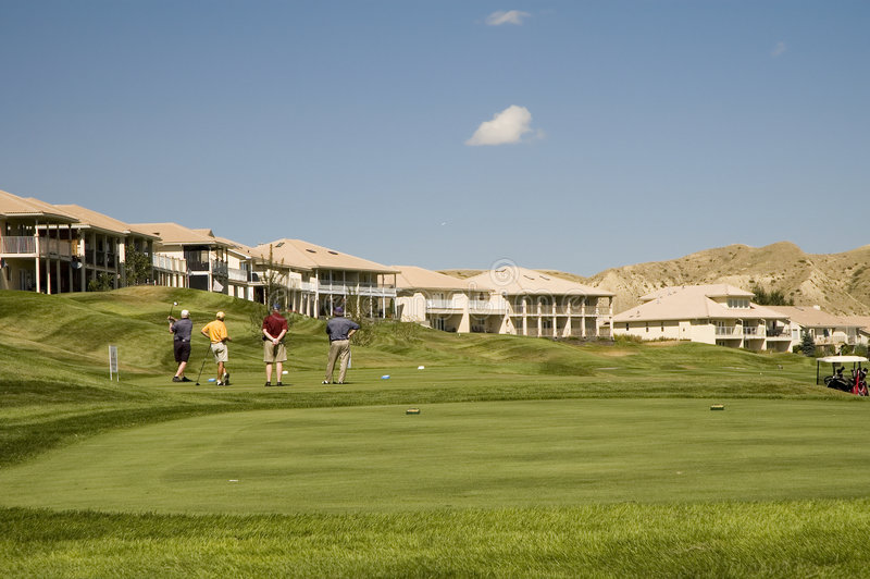 Download The golfing rich stock image. Image of club, lawn, turf - 1270743