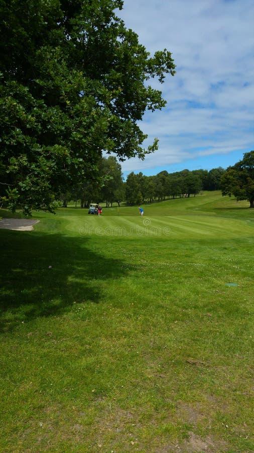 Golfing worlds stock photography