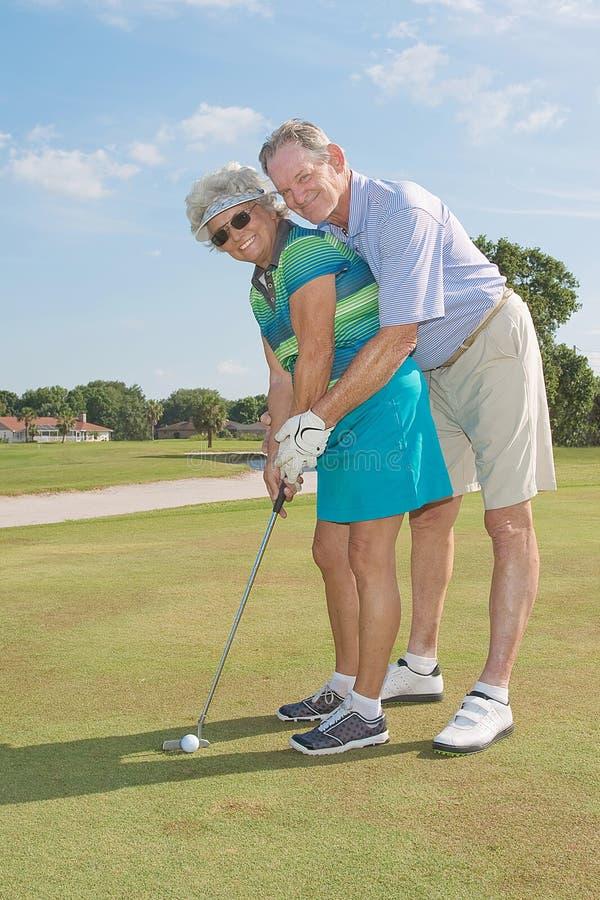 Download Golfistas mayores imagen de archivo. Imagen de persona - 42428469