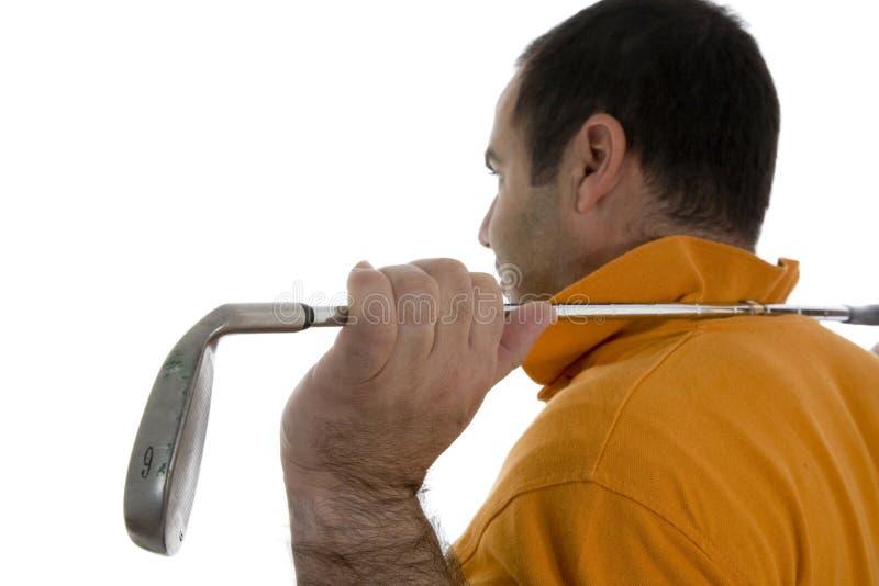 golfisty gracz obraz stock
