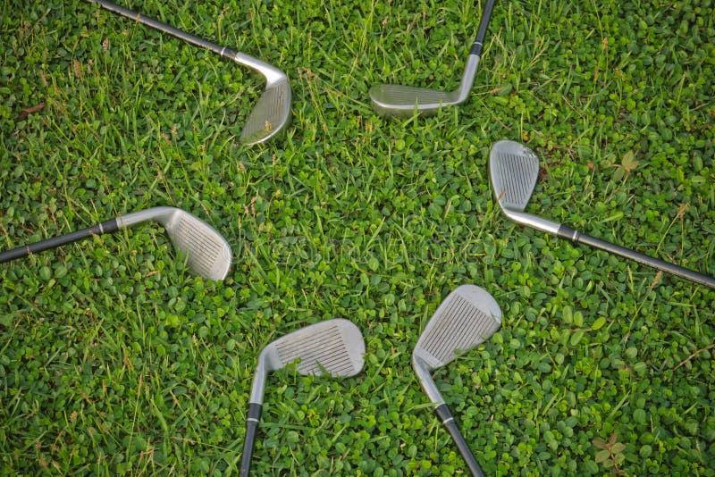 golfjärn arkivbild