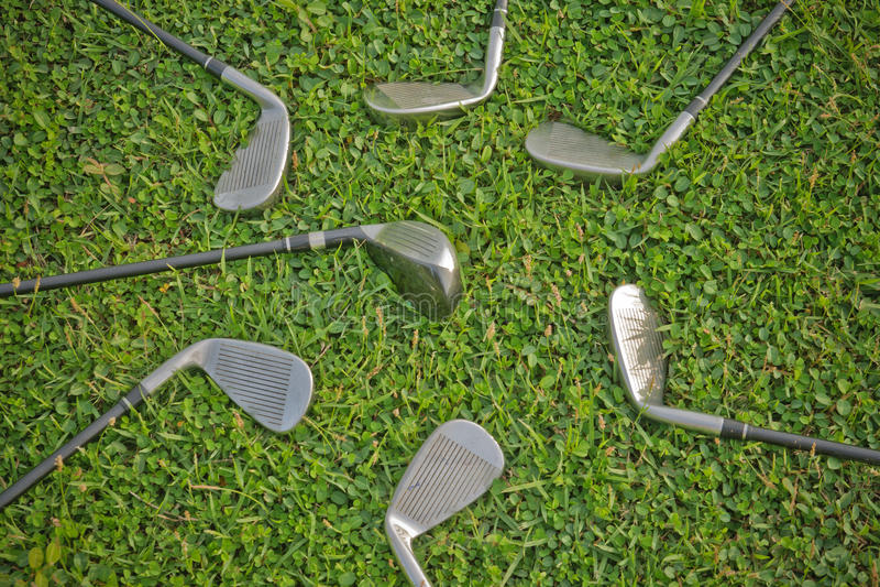 golfjärn royaltyfri bild