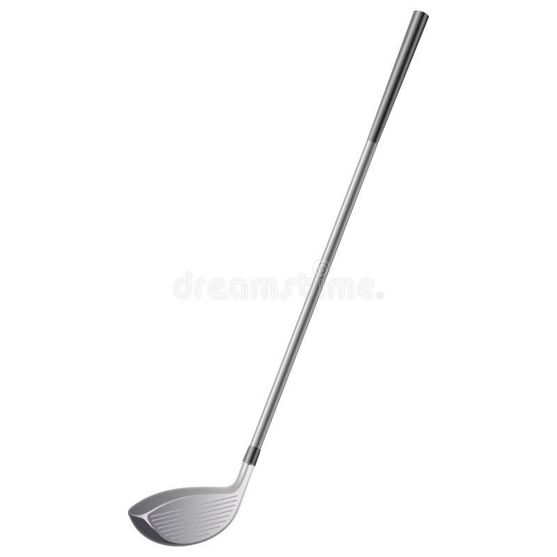Golfklubb stock illustrationer
