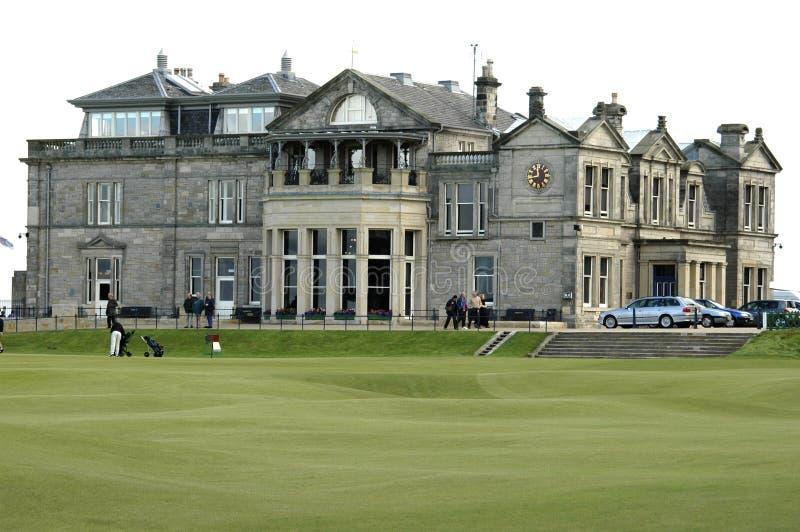 Golfklubhaus Str.-Andrews lizenzfreie stockfotografie