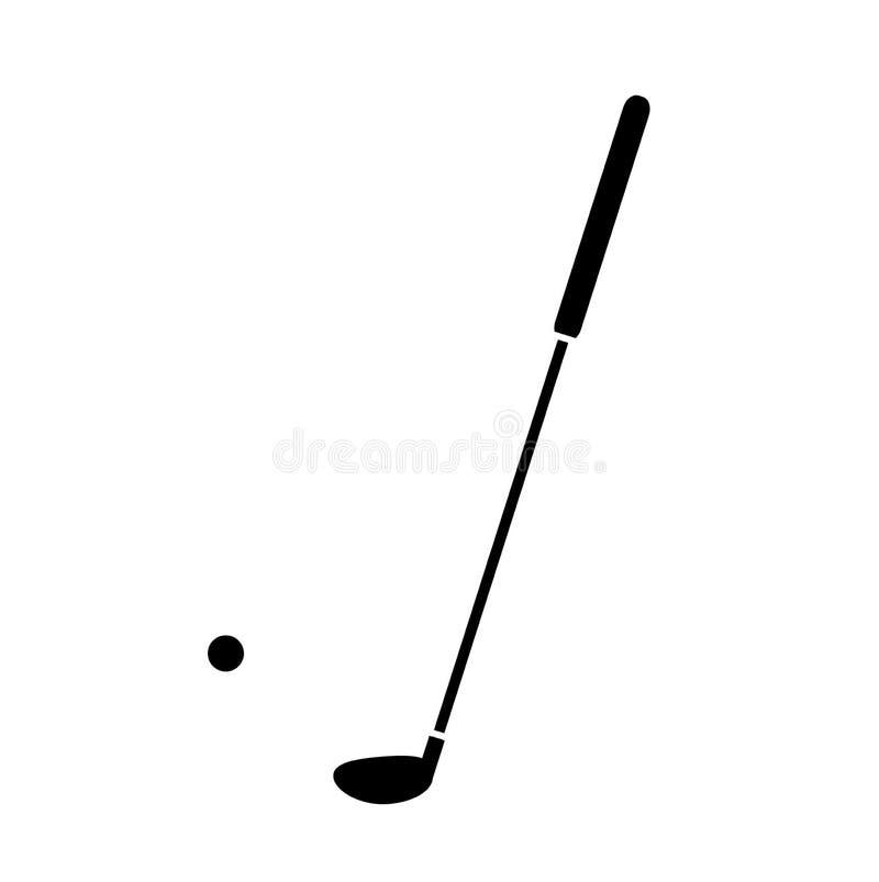 Download Golfkontursymbol vektor illustrationer. Illustration av putter - 78728616