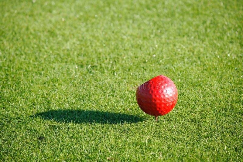 golfmarkör arkivbild