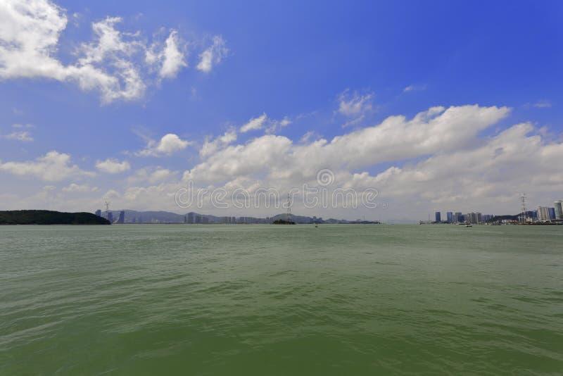 Download Golfo Da Cidade De Xiamen, Porcelana Imagem de Stock - Imagem de cais, destino: 80100393