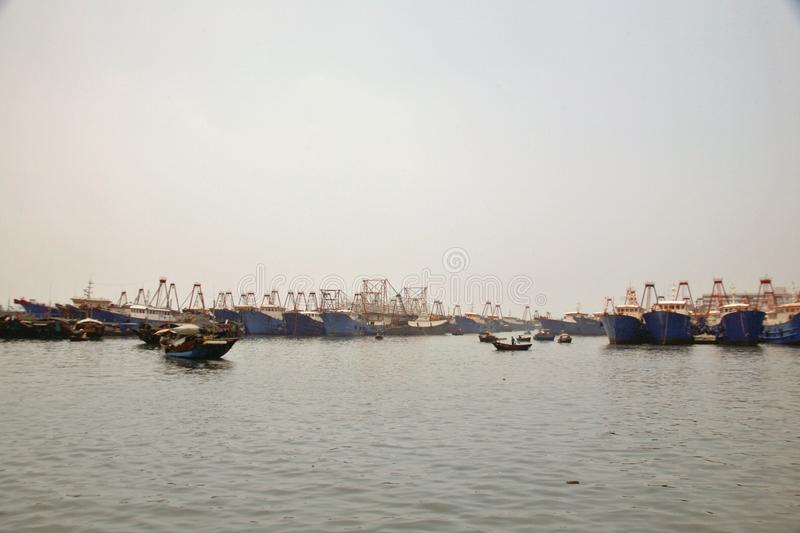 Golfo de Beibu de Beihai, Guangxi imagens de stock