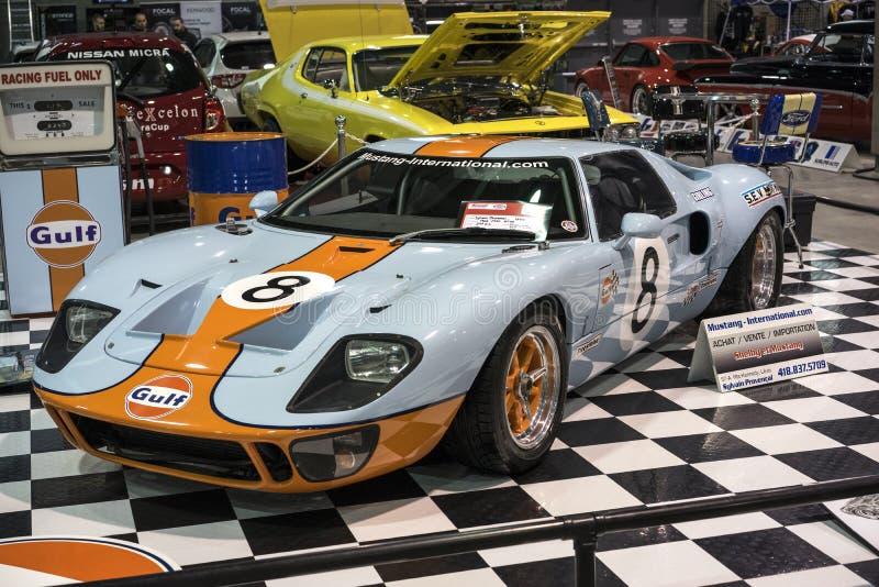 Golfo de Ford GT foto de archivo libre de regalías