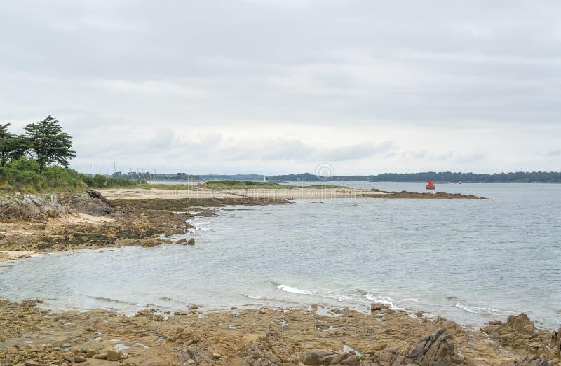 Golfo de Morbihan imagem de stock