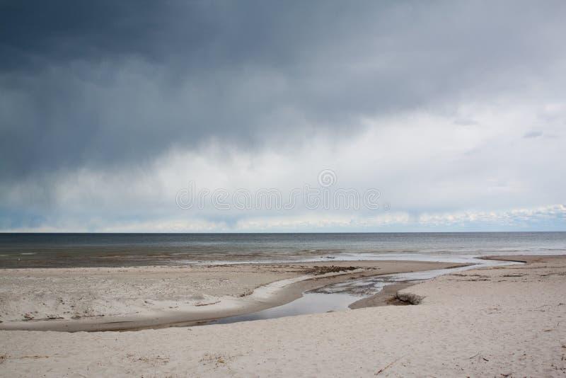 Golfo de Riga fotografía de archivo