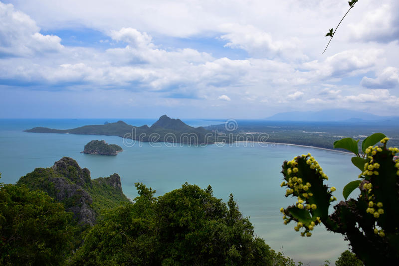 Golfo de Tailândia foto de stock royalty free