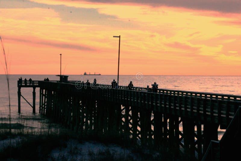 Golfo del Messico della spiaggia di Panamá vicino alla st pittoresca Andrews State Park della spiaggia dell'acqua di Florida del  fotografie stock libere da diritti