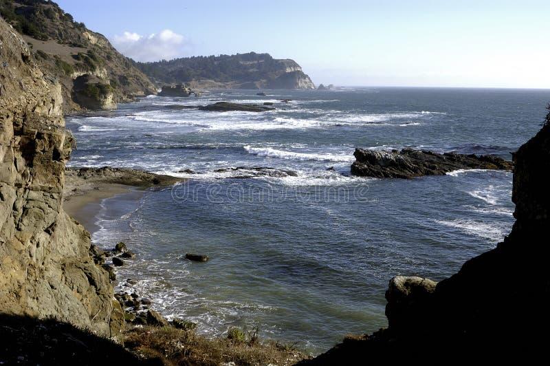 Golfo dell'Arauco, Cile immagini stock