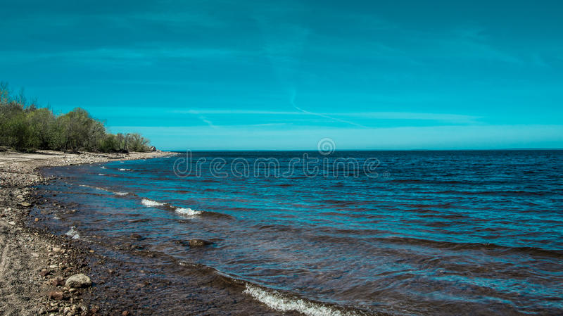 Golfo della Finlandia immagini stock libere da diritti