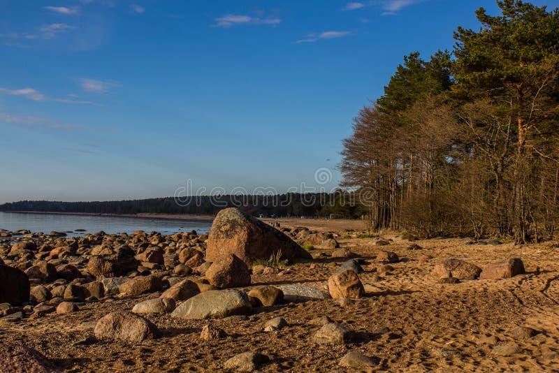 Golfo della Finlandia a St Petersburg fotografie stock