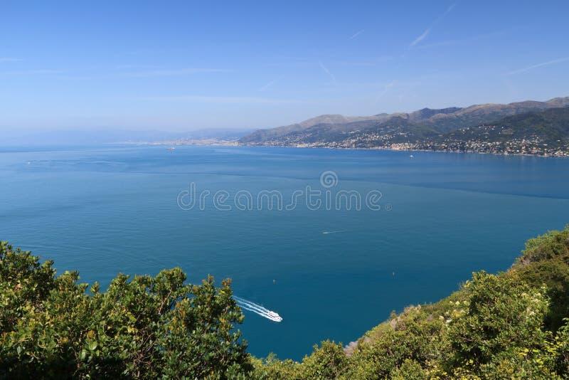 Golfo di Genova fotografie stock