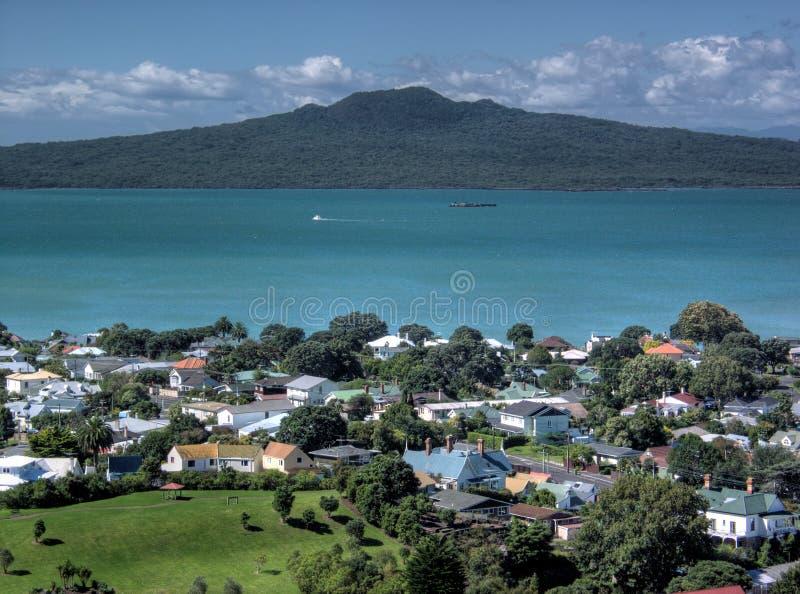 Golfo di Hauraki fotografie stock libere da diritti
