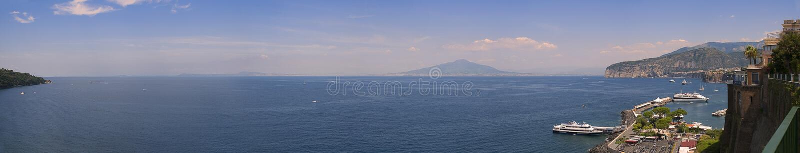 Golfo di napoli photo stock