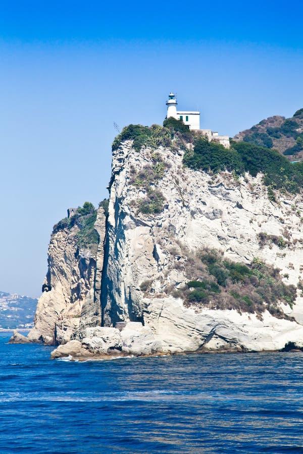 Golfo di Napoli - Italia foto de archivo libre de regalías