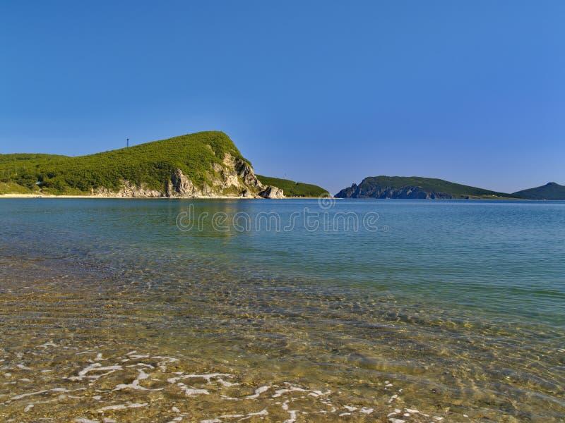 Download Golfo do mar imagem de stock. Imagem de meio, costa, cloudlessly - 12806777