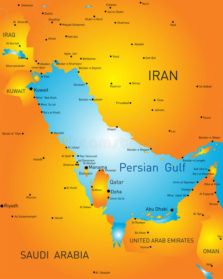 Golfo Pérsico libre illustration