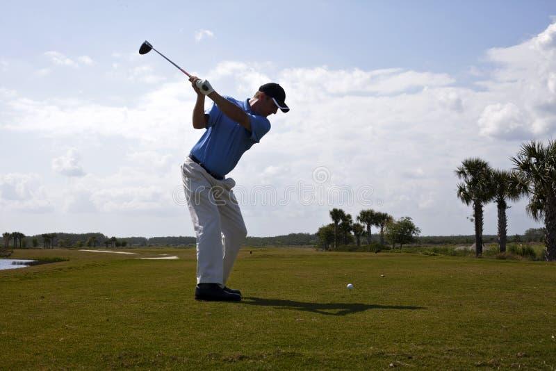 golfowa huśtawka obrazy stock