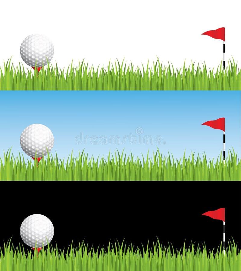 golfowa ilustracja royalty ilustracja