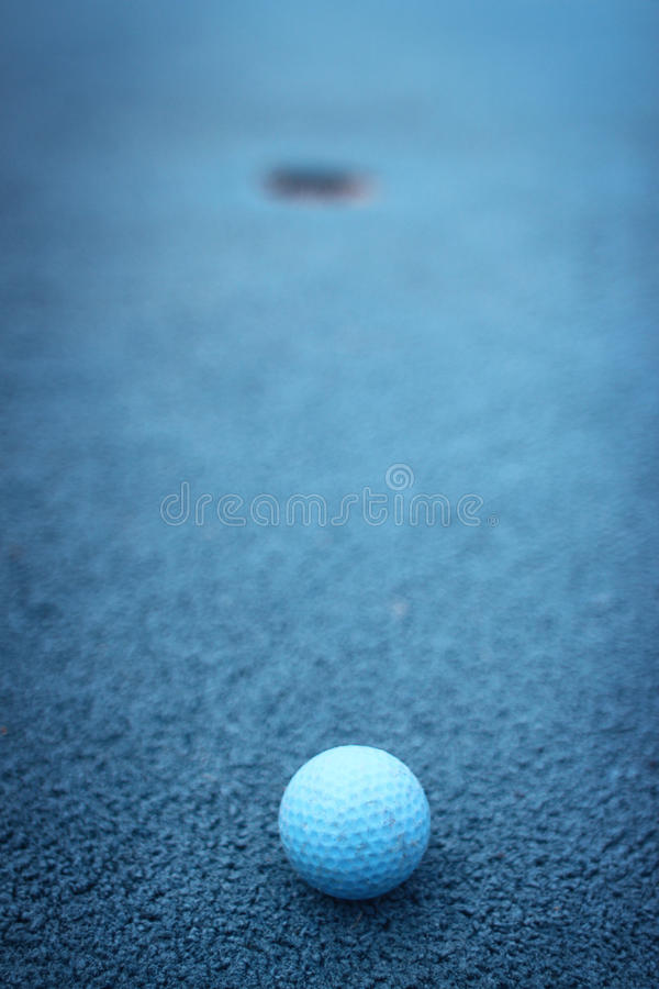 golfowa miniatura fotografia royalty free