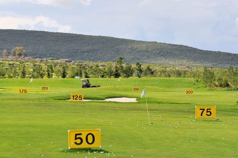 golfowa praktyka zdjęcia royalty free