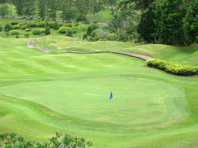 golfowa ziemia zdjęcie stock