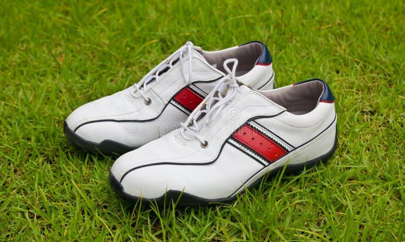 golfowi buty zdjęcie royalty free