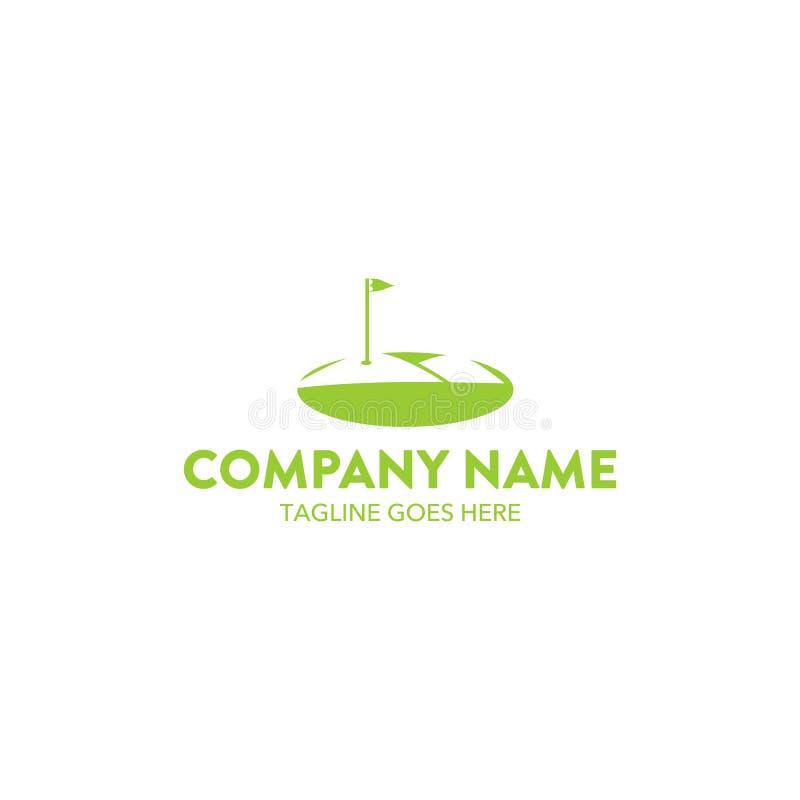 Golfowy logo royalty ilustracja