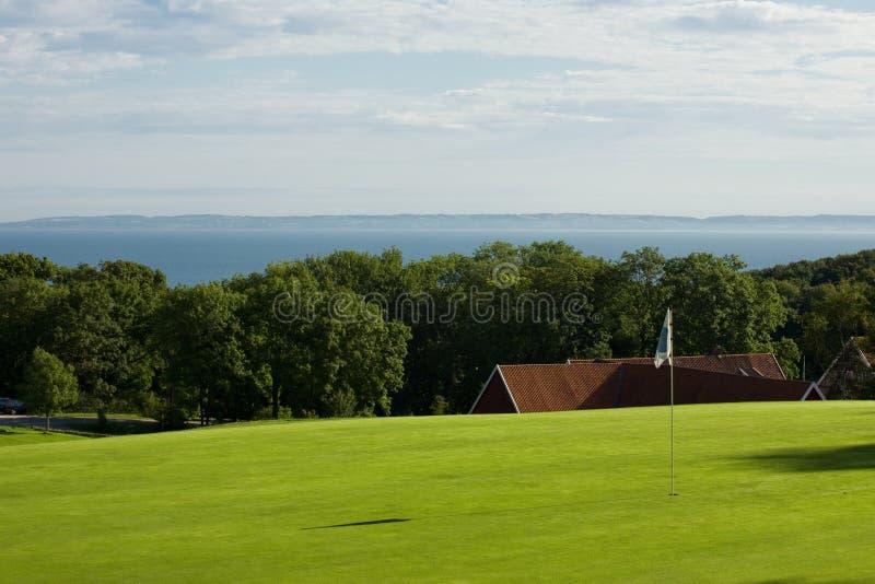 golfowy nadmorski zdjęcie stock