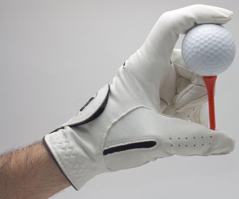 golfowy piłki mienie fotografia stock