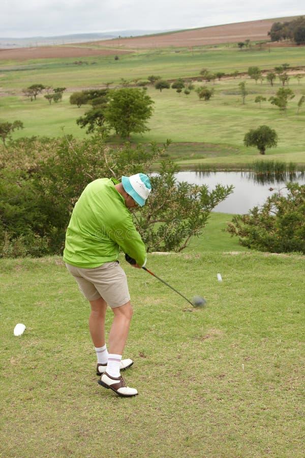 golfowy wpływ obrazy royalty free