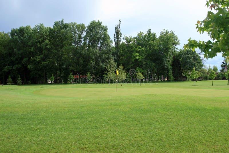Golfplatzlandschaft lizenzfreie stockbilder
