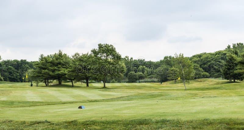 Golfplatzlandschaft der Gleichheits-3 lizenzfreie stockfotografie