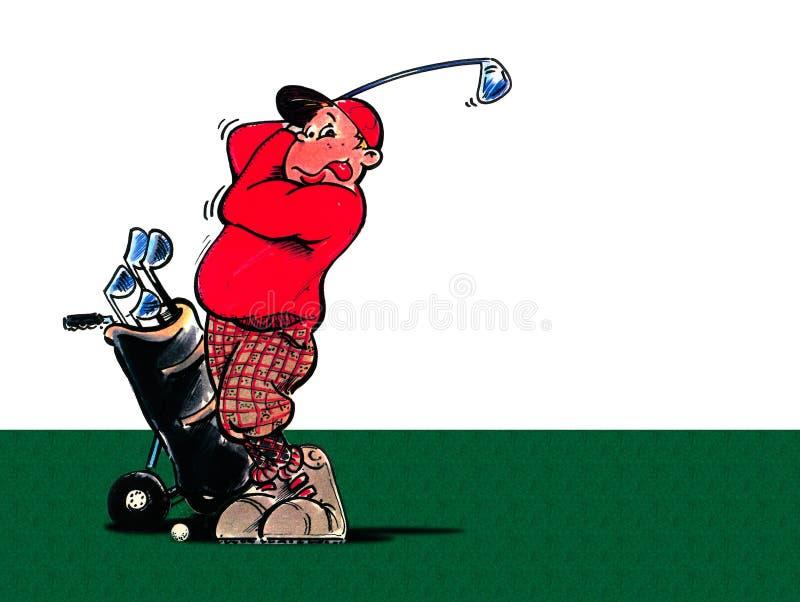 Download Golfplayer ilustração stock. Ilustração de americanos, golfers - 532762